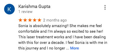 Google Reviews-Laser Hair Removal 2018 3